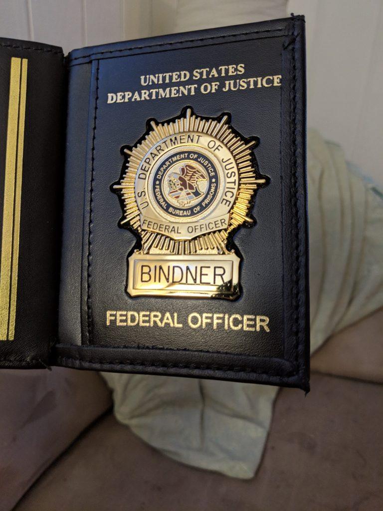 Coach Matt Becomes a Federal Correctional Officer