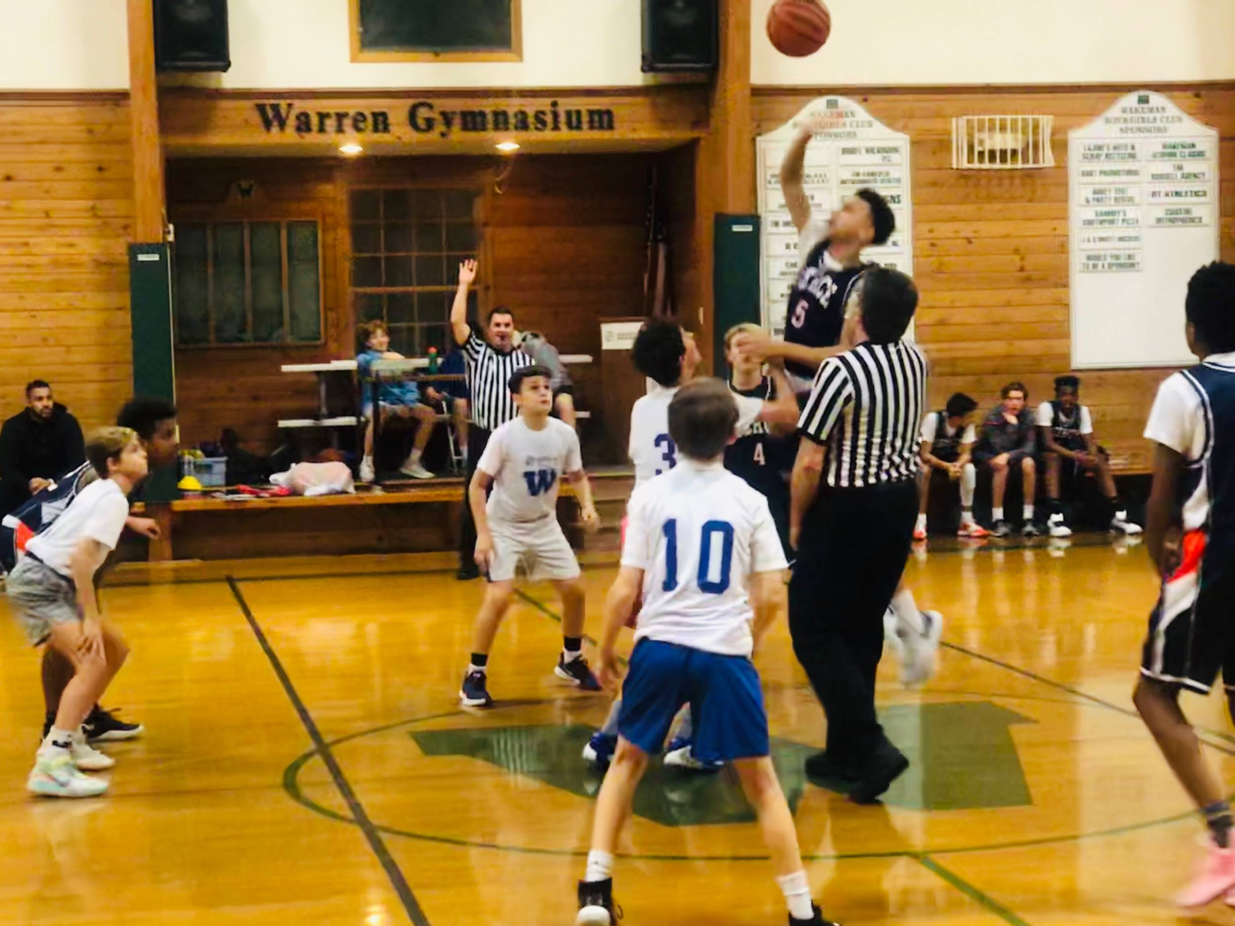 8th Grade Runs Past Wakeman Travel Basketball