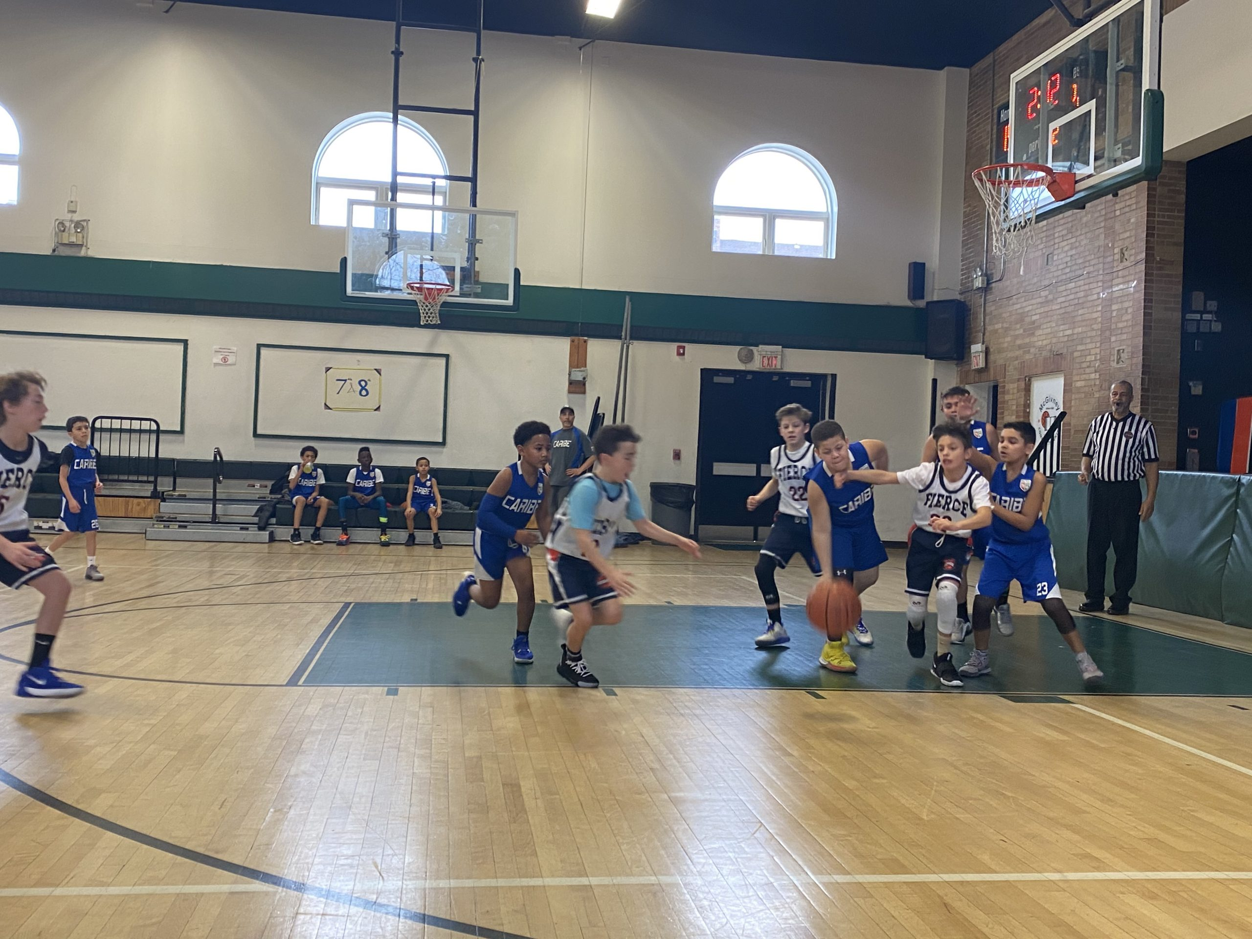 8th Grade Defeats Ralphola Taylor Center Basketball